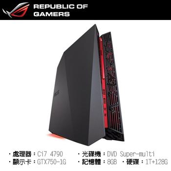 ASUS ROG G20 Ci7 1TB+128G 電競四核獨顯 GTX750