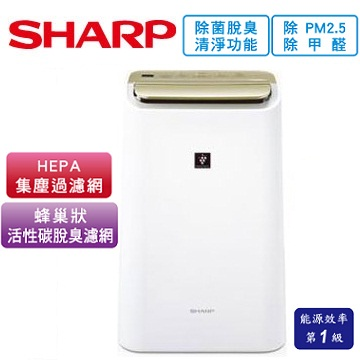 SHARP 10公升HEPA除菌除濕機