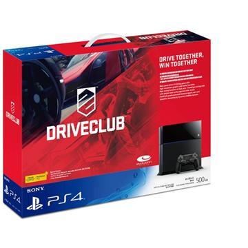 PS4-駕駛俱樂部 中文版主機同捆組+PS4-KNACK +Play Station PLUS 12個月