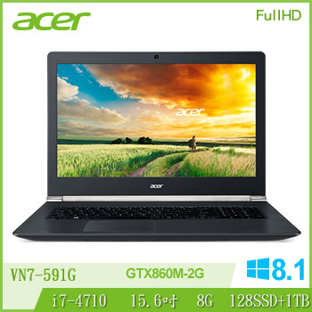 ACER 4代i7 2G獨顯電競筆電
