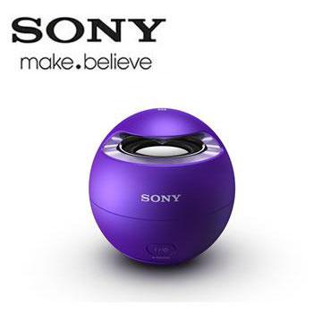 SONY NFC/藍牙揚聲器 SRS-X1/V(紫)