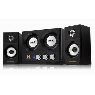 【燦坤限定】JS 雷霆系列雙重低音全木質喇叭