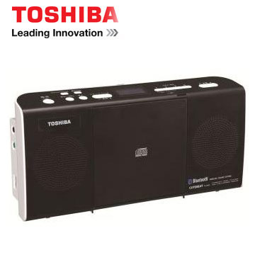 TOSHIBA NFC/藍牙手提CD音響