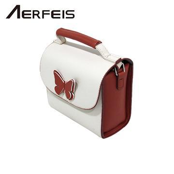 AERFEIS 阿爾飛斯 蝴蝶相機包  米色
