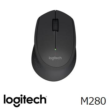 羅技 M280 無線滑鼠-黑