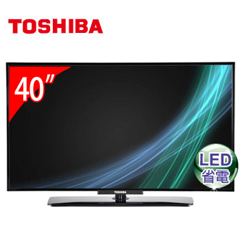 TOSHIBA 40型LED液晶顯示器 40P2450VS