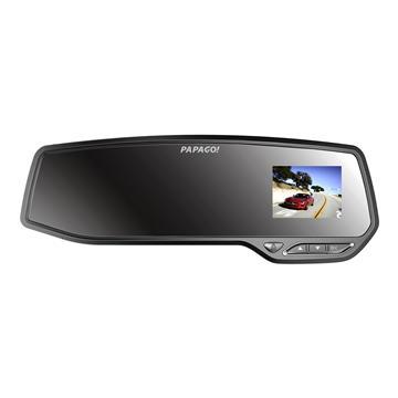PaPaGo GS372 GPS後視鏡行車記錄器