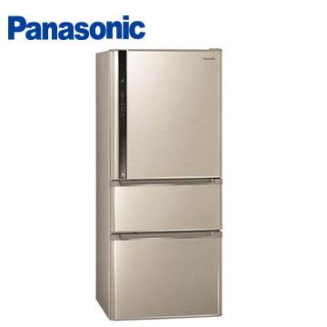 【節能補助】Panasonic610公升ECONAVInanoe三門變頻冰箱