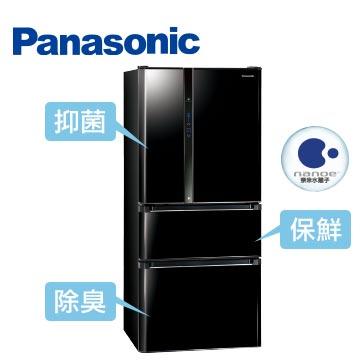 Panasonic610公升ECONAVInanoe四門變頻冰箱