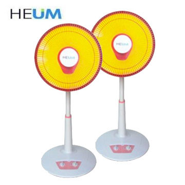 HEUM 14吋鹵素電暖器(兩入)