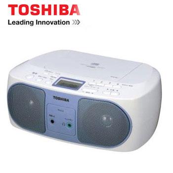 [福利品] TOSHIBA USB手提CD音響 TY-CRU12TW(藍)