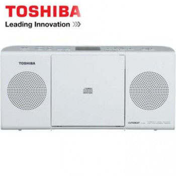 TOSHIBA MP3手提CD音響 TY-CRM23TW(W)(白色)