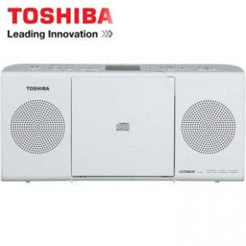[福利品] TOSHIBA MP3手提CD音響 TY-CRM23TW(W)(白色)