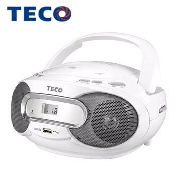 東元 USB手提CD音響
