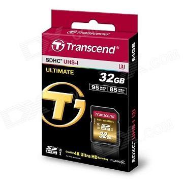 【U3X】創見 SDXC UHS-I 32G記憶卡