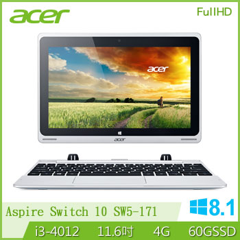 ACER 2 in 1 FHD變形平板筆電腦 Aspire Switch 11