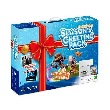 PS4 入手好時機包主機同捆組(冰河白)
