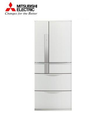 MITSUBISHI 635公升瞬冷凍1級節能六門冰箱(經典白)