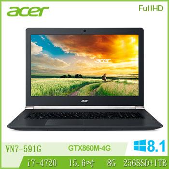 ACER 4代i7 4G獨顯電競FHD筆電