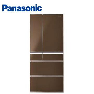 【節能補助】Panasonic 608公升頂級ECONAVI六門變頻冰箱