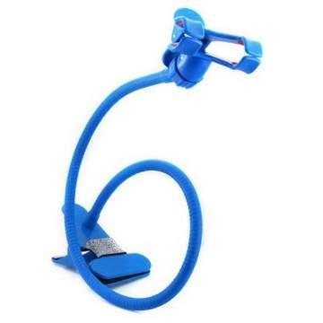 i-gota 雙夾頭手機固定架-藍