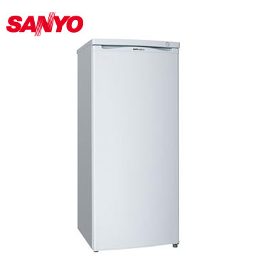 三洋145公升直立式冷凍櫃