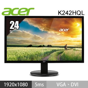 【福利品】【24型】ACER K242HQL LED