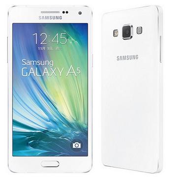 SAMSUNG Galaxy A5 4G LTE薄型機-白