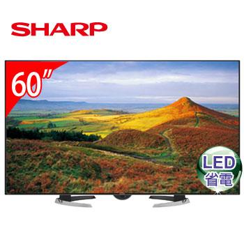 SHARP 60型日本原裝LED液晶電視 LC-60H20T