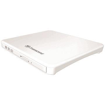 創見 8X外接式超薄DVD燒錄機(白)