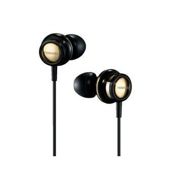 TOSHIBA RZE-S70高音質耳塞式耳機-黑金