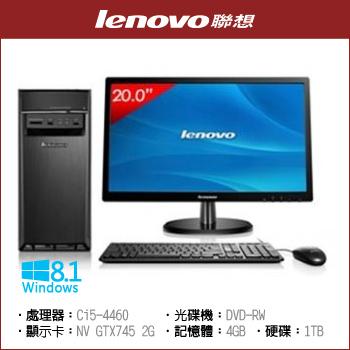 """Lenovo 90B70051TW Ci5 1TB (含20""""螢幕 L12041)"""