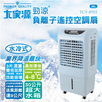 大家源 勁涼負離子遙控空調扇