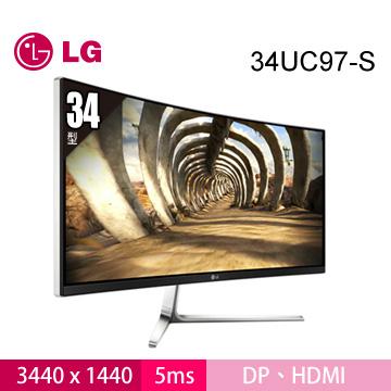 LG 34UC97-S 34型 Curve Monitor