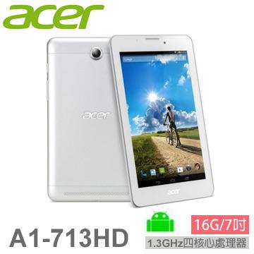 ACER ICONIA 3G通話手機平板(16G-白)