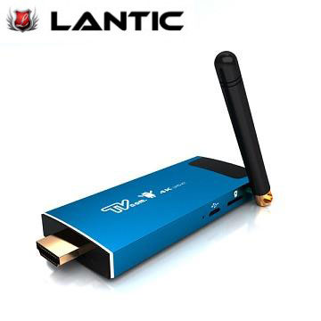 LANTIC 喬帝4K四核心影音智慧電視棒