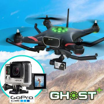 TTRobotix GHOST限量優惠版-含空拍機GoProHero4銀色*1