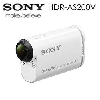 SONY AS200V 運動型攝影機