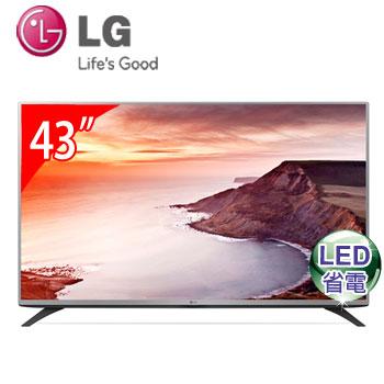 【節能補助】LG 43型 LED液晶電視 43LF5400