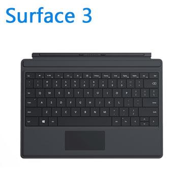 微軟Surface 3 實體鍵盤(黑)