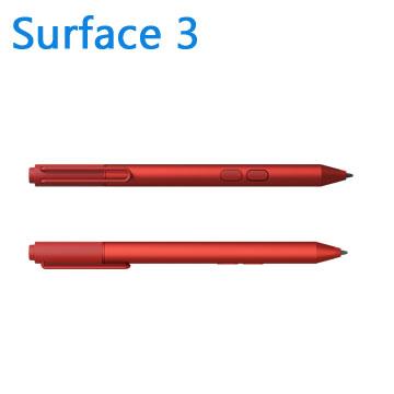 微軟 Surface 3 手寫筆(紅)