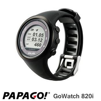 PAPAGO GoWatch820i 藍牙中文三鐵運動錶-黑