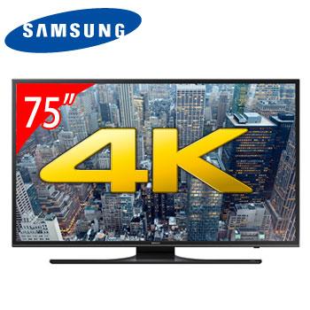 【節能補助】SAMSUNG 75型4K LED智慧型液晶電視  UA75JU6400WXZW