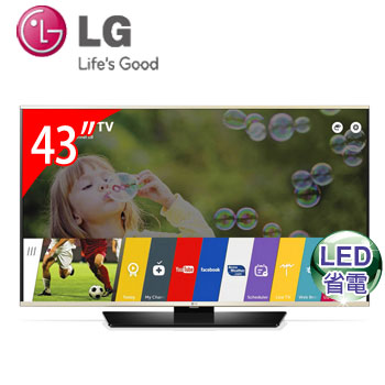 LG 43型LED智慧型液晶電視 43LF6350