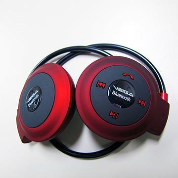 VEGIA LB-MINI自動式收納式藍牙耳機-紅