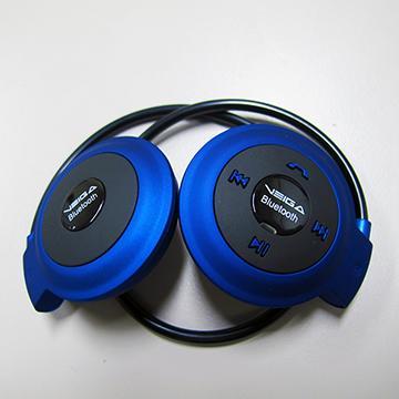 VEGIA LB-MINI自動式收納式藍牙耳機-藍