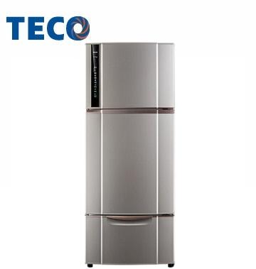 東元 543公升節能變頻三門冰箱(晶鑽灰)