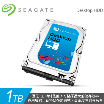 Seagate Desktop HDD 1TB 7200rpm