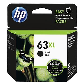 HP 63XL 黑色墨匣