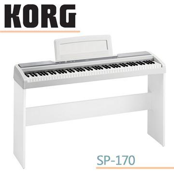 korg 88键电钢琴白色+琴架图片